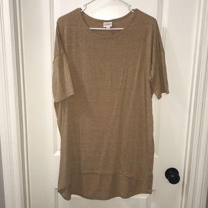 LulaRoe - Tan Long Shirt